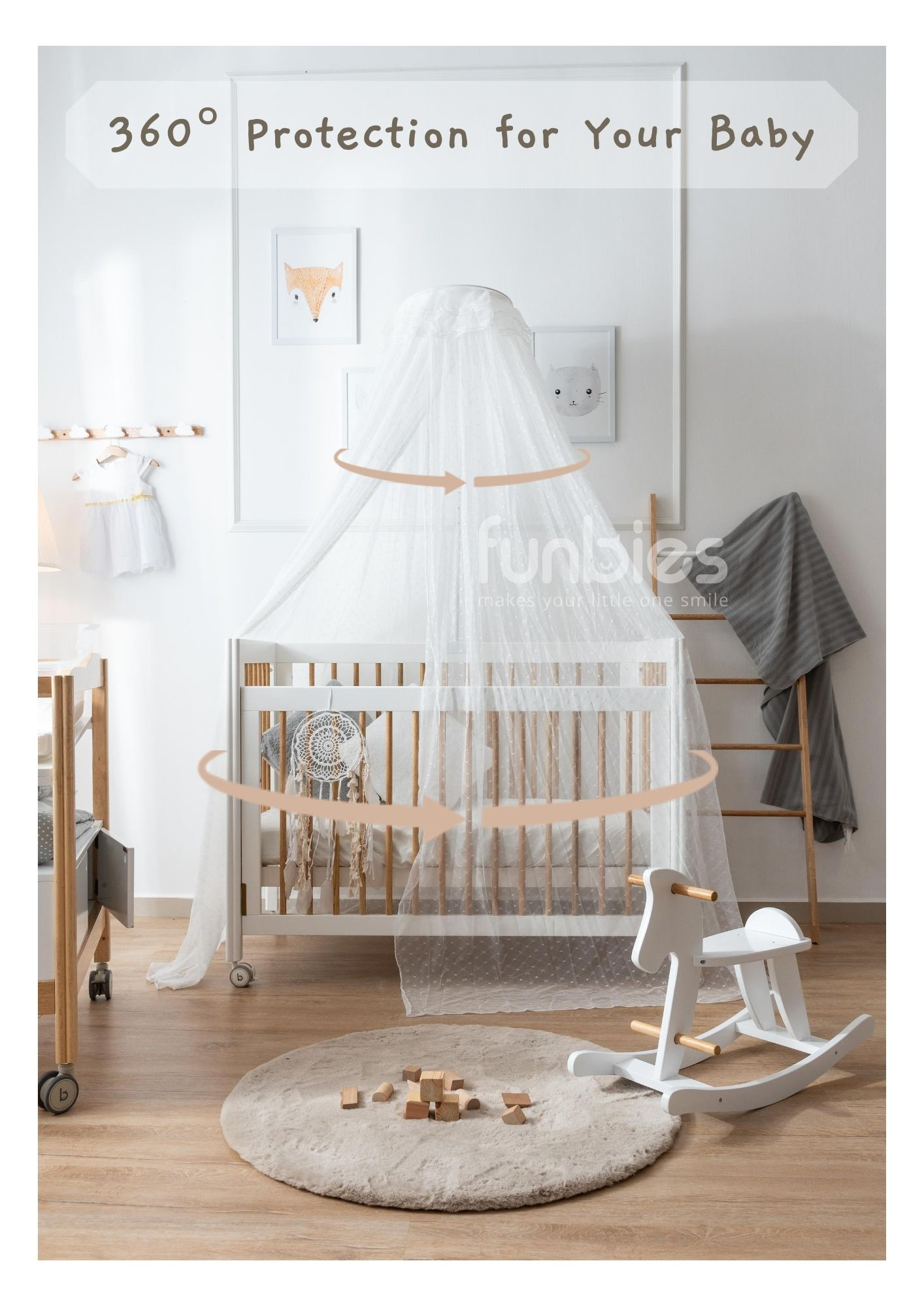 Funbies Mosquito Net with Stand