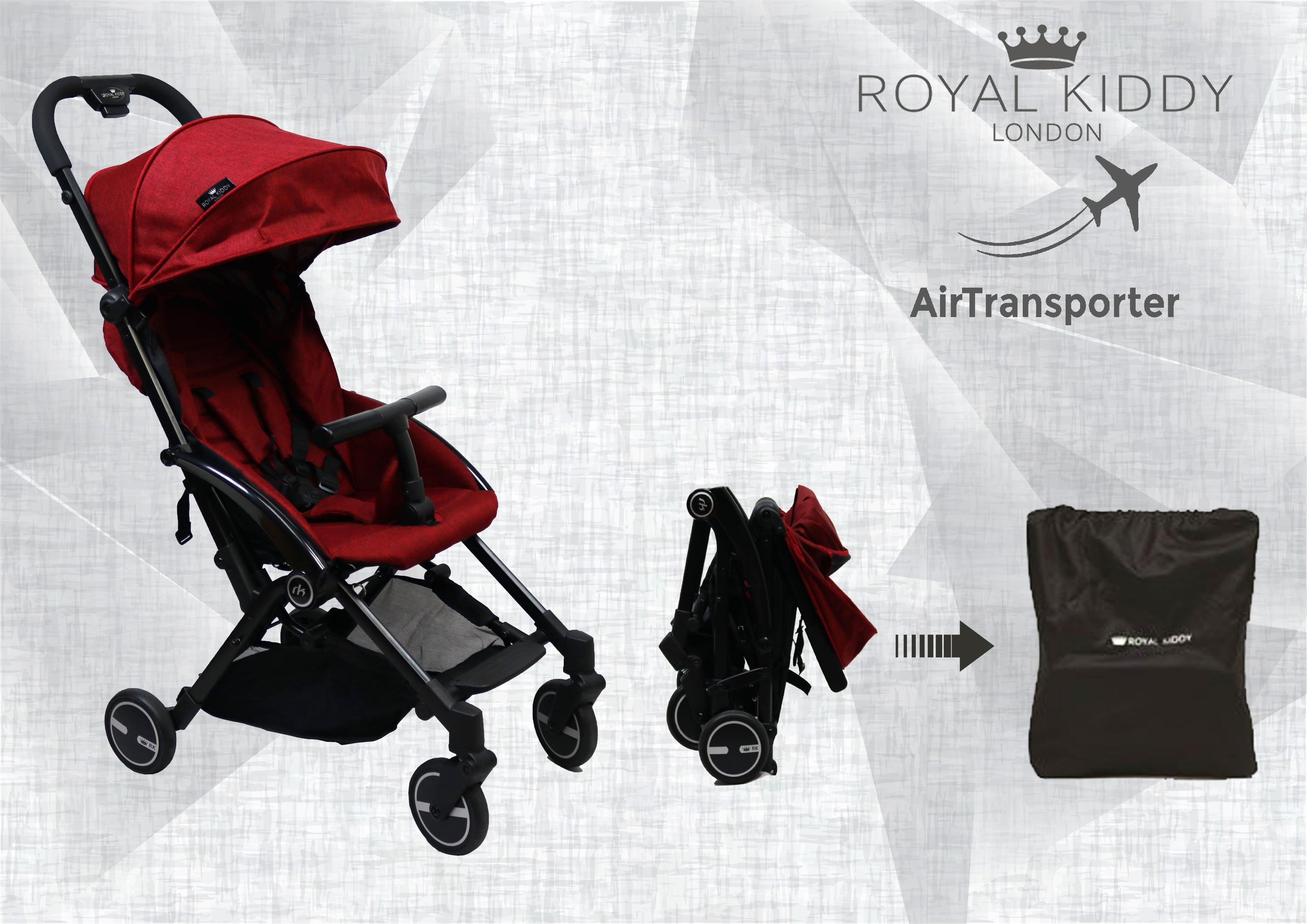 Royal Kiddy London The Air Transporter Stroller (Red)