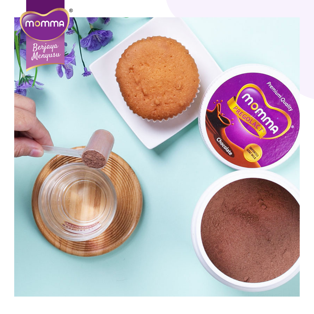 Breastfeeding Supplement: Milk Booster MOMMA® Pregolact® Chocolate - Normal Pack 600g (1 Unit)